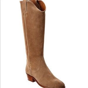 Frye Carson Suede Tall Boot Size 7.5